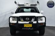2013 Nissan Navara D40 S7 MY12 RX King Cab White 5 Speed Automatic Cab Chassis Edgewater Joondalup Area Preview