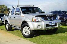 2011 Nissan Navara D22 S5 ST-R Silver 5 Speed Manual Utility Wangara Wanneroo Area Preview