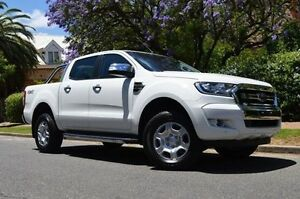 2016 Ford Ranger PX MkII XLT Double Cab White 6 Speed Sports Automatic Utility Thorngate Prospect Area Preview