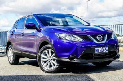 2017 Nissan Qashqai J11 ST Blue Continuous Variable Wagon Wangara Wanneroo Area Preview