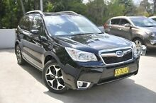 2015 Subaru Forester S4 MY15 Black 8 Speed Constant Variable Wagon Meadowbank Ryde Area Preview