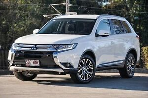 2016 Mitsubishi Outlander ZK MY16 LS 4WD White 6 Speed Constant Variable Wagon Helensvale Gold Coast North Preview