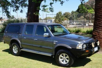 2006 Ford Courier PH (Upgrade) XLT Crew Cab Grey 5 Speed Automatic Utility Leederville Vincent Area Preview