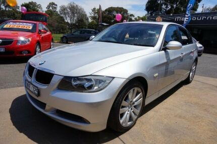 2008 BMW 320D E90 MY08 Executive Steptronic Titanium Silver 6 Speed Sports Automatic Sedan