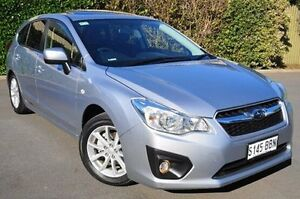 2014 Subaru Impreza G4 MY14 2.0i-L Lineartronic AWD Silver 6 Speed Constant Variable Hatchback Glenelg East Holdfast Bay Preview