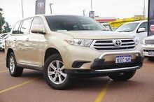 2013 Toyota Kluger GSU40R MY12 KX-R 2WD Sunset 5 Speed Sports Automatic Wagon Balcatta Stirling Area Preview