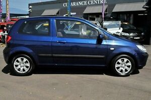 2007 Hyundai Getz TB MY07 S Blue 4 Speed Automatic Hatchback North Gosford Gosford Area Preview