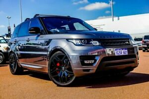 2016 Land Rover Range Rover Sport L494 16.5MY SDV8 CommandShift HSE Dynamic Grey 8 Speed
