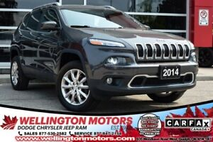 2014 Jeep Cherokee Limited / NEW TIRES / 4X4 / LUXURY GROUP !!