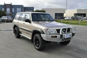 1999 Nissan Patrol GU ST (4x4) Gold 5 Speed Manual 4x4 Wagon Hoppers Crossing Wyndham Area Preview