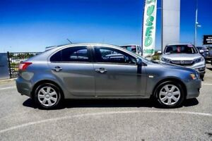 2012 Mitsubishi Lancer CJ MY12 ES Sportback Grey 6 Speed CVT Auto Sequential Hatchback