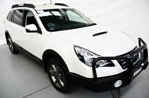 2014 Subaru Outback B5A MY14 2.0D Lineartronic AWD White 7 Speed Constant Variable Wagon Maryville Newcastle Area Preview