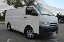 2010 Toyota Hiace KDH201R MY10 LWB White 5 Speed Manual Van Beckenham Gosnells Area Preview