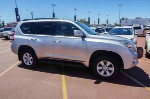 2014 Toyota Landcruiser Prado KDJ150R MY14 GXL Silver 5 Speed Sports Automatic Wagon Westminster Stirling Area Preview