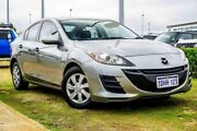 2010 Mazda 3 BL10F1 MY10 Neo Activematic Silver 5 Speed Sports Automatic Sedan Pearsall Wanneroo Area Preview