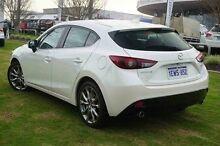 2015 Mazda 3 BM5428 White 6 Speed Sports Automatic Hatchback Wangara Wanneroo Area Preview