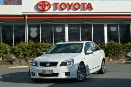 2014 Holden Caprice WN MY14 V White 6 Speed Auto Seq Sportshift Sedan Highland Park Gold Coast City Preview