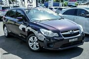 2012 Subaru Impreza G4 MY12 2.0i Lineartronic AWD Maroon Dark 6 Speed Constant Variable Hatchback Brookvale Manly Area Preview