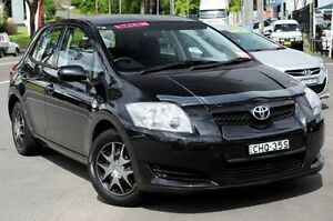 2007 Toyota Corolla Black Manual Hatchback North Gosford Gosford Area Preview