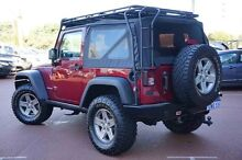 2012 Jeep Wrangler JK MY2012 Rubicon Red 6 Speed Manual Softtop Wangara Wanneroo Area Preview