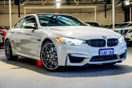 2016 BMW M4 F82 Competition M-DCT White 7 Speed Sports Automatic Dual Clutch Coupe Osborne Park Stirling Area Preview