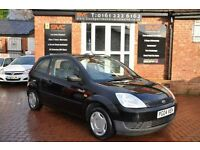 FORD FIESTA 1.2 FINESSE 16V 3d 74 BHP (black) 2004