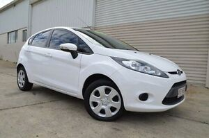 2012 Ford Fiesta White Sports Automatic Dual Clutch Hatchback Ashmore Gold Coast City Preview