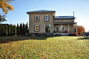 Century Home on 1.68 acres 60 minutes to Halton or Hamilton