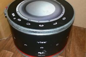 """vibe space 15"""" dual voice coil competition sub 3600w"""