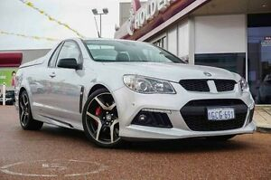 2013 Holden Special Vehicles Maloo GEN-F MY14 R8 Silver & Chrome 6 Speed Sports Automatic Utility Glendalough Stirling Area Preview