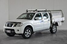 2012 Nissan Navara D40 S6 MY12 ST 4x2 White 5 Speed Sports Automatic Utility Robina Gold Coast South Preview