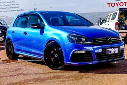 2012 Volkswagen Golf VI MY13 R DSG 4MOTION Blue 6 Speed Sports Automatic Dual Clutch Hatchback Balcatta Stirling Area Preview