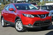 2015 Nissan Qashqai J11 ST Magnetic Red 1 Speed Constant Variable Wagon Beaudesert Ipswich South Preview
