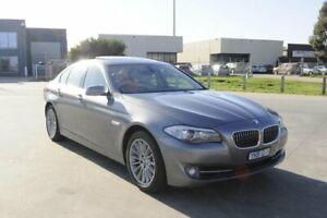 2010 BMW 535i F10 Grey 8 Speed Automatic Sedan Hoppers Crossing Wyndham Area Preview