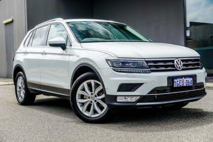 2016 Volkswagen Tiguan 5N MY17 140TDI DSG 4MOTION Highline White 7 Speed Osborne Park Stirling Area Preview