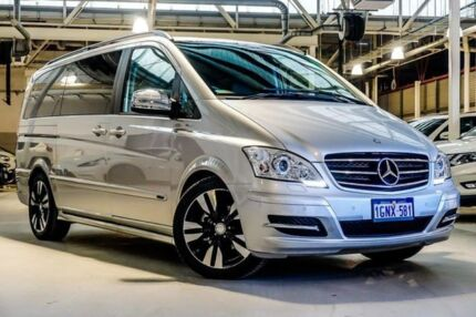 2014 Mercedes-Benz Viano 639 MY13 Grand Edition Avantgarde Silver 5 Speed Automatic Wagon Osborne Park Stirling Area Preview
