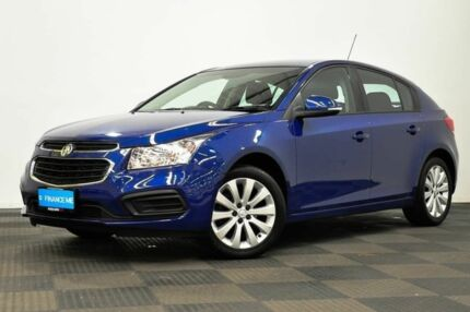 2016 Holden Cruze JH Series II MY16 Equipe Blue 6 Speed Sports Automatic Hatchback Edgewater Joondalup Area Preview