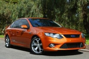 2010 Ford Falcon FG XR6 50th Anniversary Orange 6 Speed Sports Automatic Sedan Thorngate Prospect Area Preview