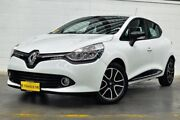 2014 Renault Clio IV B98 Expression White 5 Speed Manual Hatchback Thornlie Gosnells Area Preview