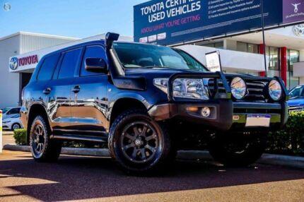 2009 Toyota Landcruiser VDJ200R VX Grey 6 Speed Sports Automatic Wagon
