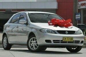 2008 Holden Viva JF MY08 Silver 4 Speed Automatic Hatchback Pennant Hills Hornsby Area Preview