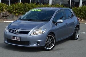 2011 Toyota Corolla Blue Manual Hatchback Highland Park Gold Coast City Preview