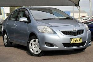 2010 Toyota Yaris NCP93R MY10 YRS Blue 4 Speed Automatic Sedan Gosford Gosford Area Preview