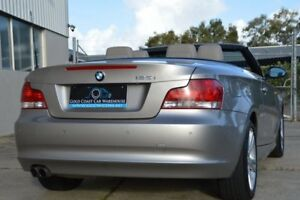 2008 BMW 125I E88 Silver 6 Speed Automatic Convertible