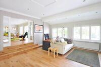 Hardwood Floors Refinished to Perfection