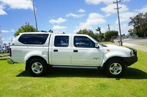 2014 Nissan Navara D22 S5 ST-R White 5 Speed Manual Utility Wangara Wanneroo Area Preview