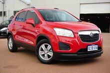 2015 Holden Trax TJ MY15 LS Red 6 Speed Automatic Wagon Glendalough Stirling Area Preview