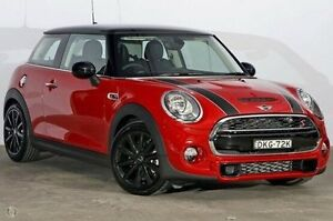 2016 Mini Hatch F56 Cooper S Blazing Red 6 Speed Sports Automatic Hatchback Alexandria Inner Sydney Preview