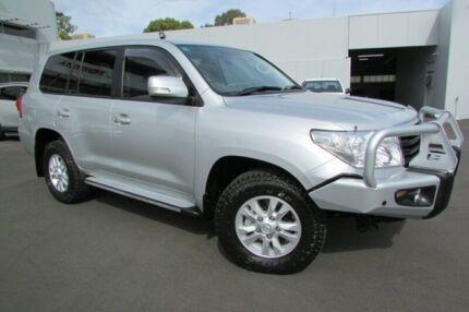 2015 Toyota Landcruiser Silver Pearl Automatic Wagon