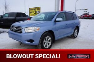 2008 Toyota Highlander ALL WHEEL DRIVE 3rd Row,  Back-up Cam,  A